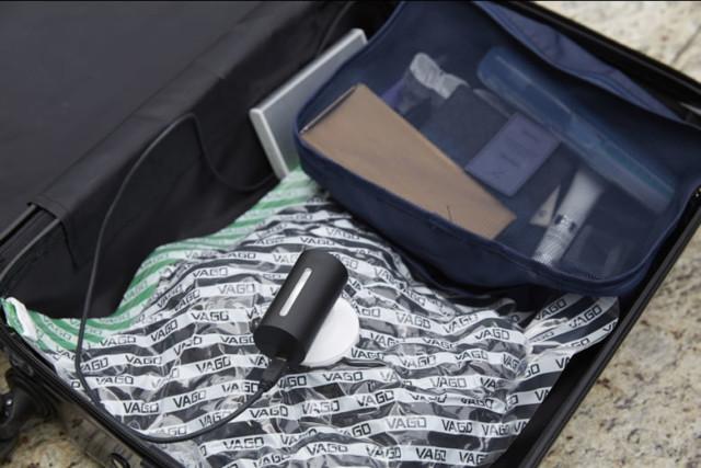 圧縮袋 超小型空気圧縮マシン VAGO